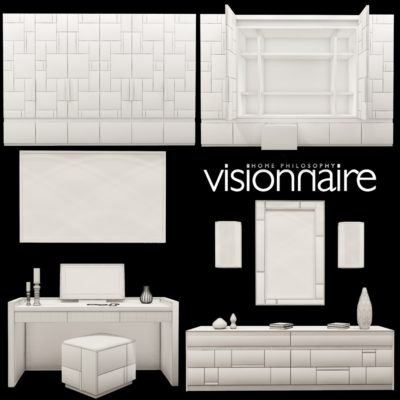 Visionnaire Barrymore collection 3D model