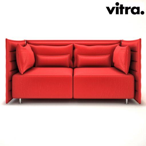 Vitra Alcove Sofa 3D Model 2