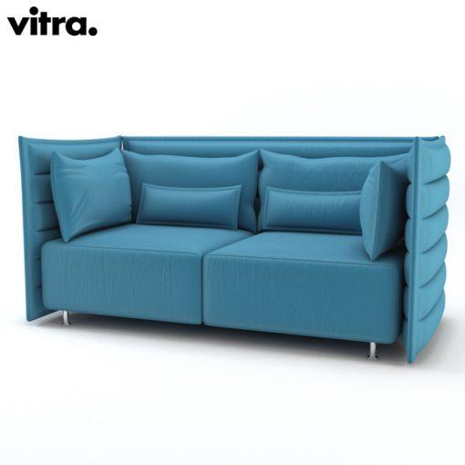 Vitra Alcove Sofa 3D Model 4