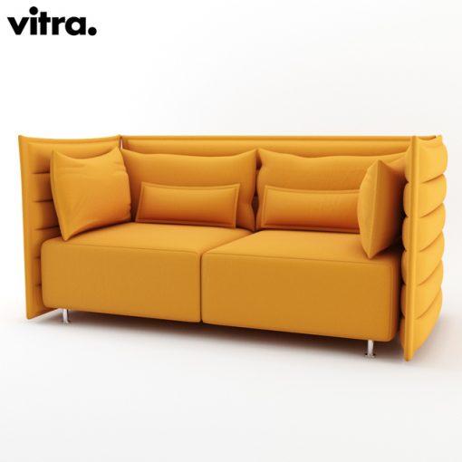 Vitra Alcove Sofa 3D Model