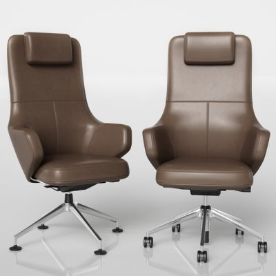 Vitra Grand Executive & Grand Conference Chair 3D Model