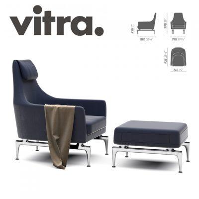 Vitra Suita Armchair 3D Model
