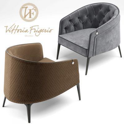 Vittoria Frigerio Descrizione Armchair 3D Model