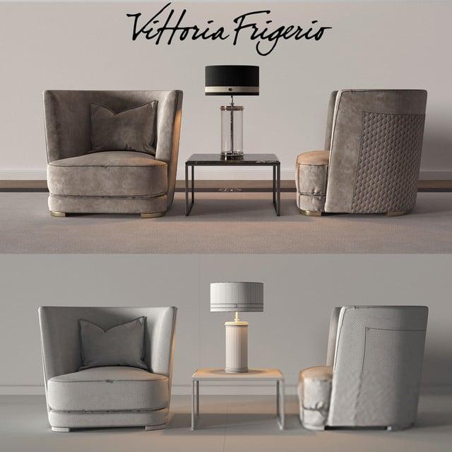 Vittoria Frigerio Part 2 - Chair 3D Model