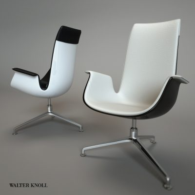 Walter Knoll FK 6728 Chair 3D Model