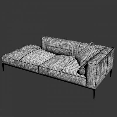 Walter Knoll Jaan Vol.01 Sofa 3D Model