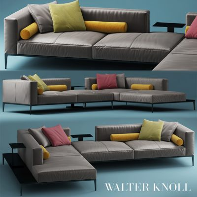 Walter Knoll Jaan Vol.02 Sofa 3D Model
