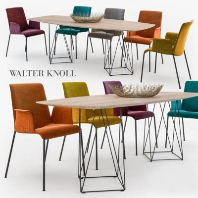 Walter Knoll Liz chair Joco table