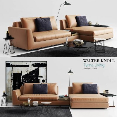 Walter Knoll Tama Living Sofa 3D model