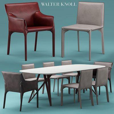 Walterknoll Saddle Table & Chair 3D Model
