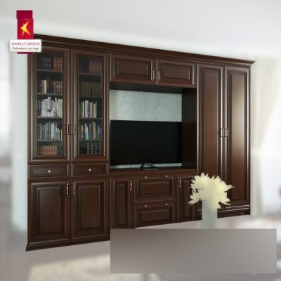 Wardrobe & Display Cabinet Set-02 3D Model