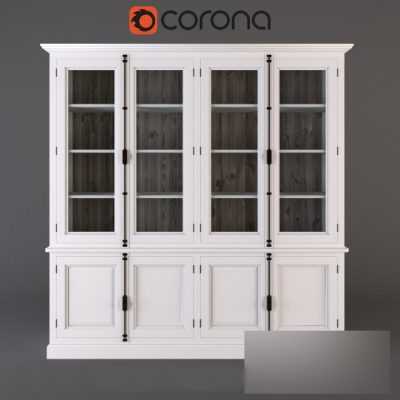 Winchester Collection Bookcase 3D Model
