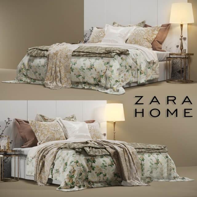 Zara Home Bedroom Set 2 3d Model For Download Cgsouq Com