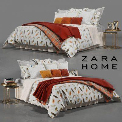 Zara Home Bedroom-03 3D Model