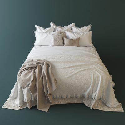 Zara Home Bedroom-05 3D Model