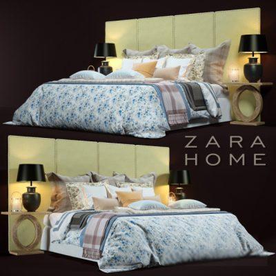 Zara Home Bedroom-09 3D Model