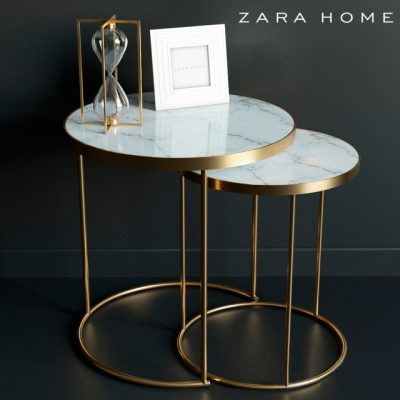Zara Home Coffee Table 3D Model
