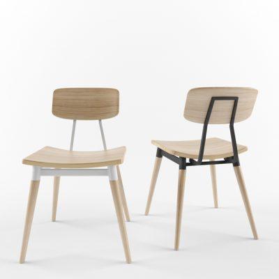 Zenith Copine Chair 3D Model