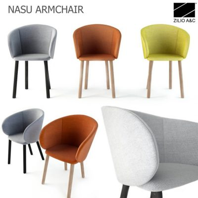 Zilio NASU ARMCHAIR 3D model