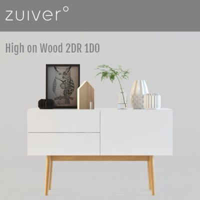 Zuiver High On Wood Sideboard 3D Model