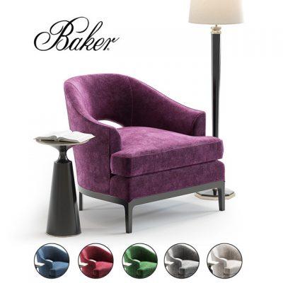 Carnelian Lounge Chair 3D Model