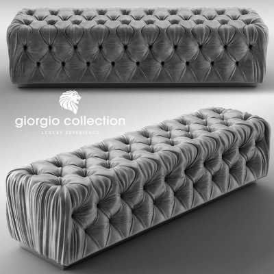 Giorgio luxury collection Pouf 3D model