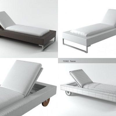 luxor-sunlounger-3d-model