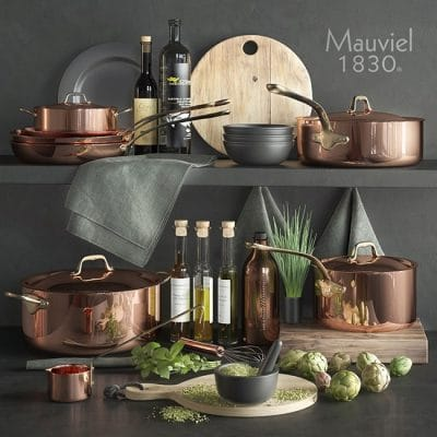 Mauviel1830 Kitchenware 3D Model