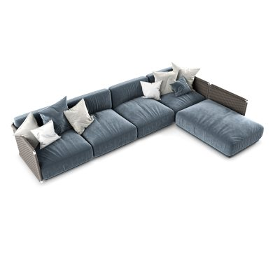 Italiana Flexform sofa 3D Model