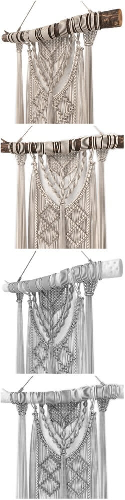 Macrame Wall Hanging 3D model