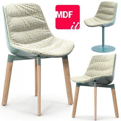 MDF Flow Color Chair 3D Model