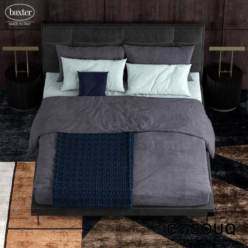 Baxter viktor 5 Bed 3D model 2