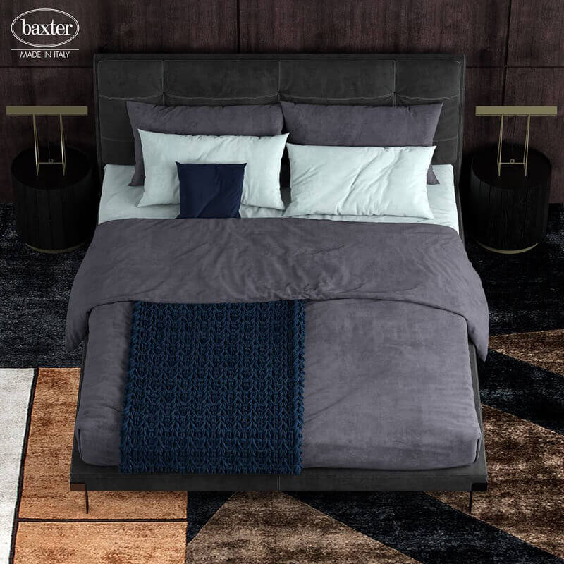 Baxter viktor 5 Bed 3D model 2