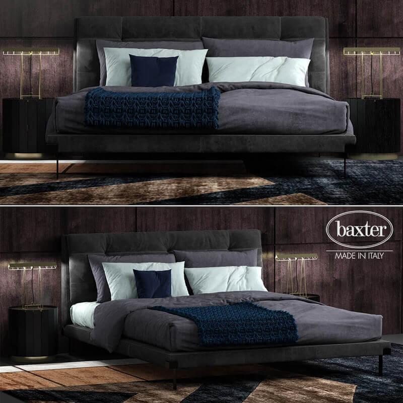 Baxter viktor 5 Bed 3D model 1