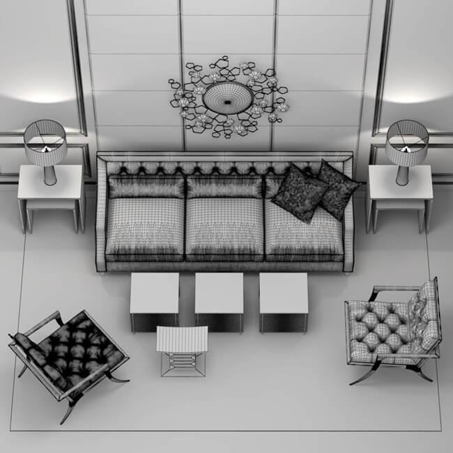 Baker Furniture Set 2