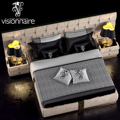 Visionnaire Luxury Bed 3D model