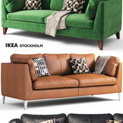 Sofa Stockholm Ikea 2012 3D Model