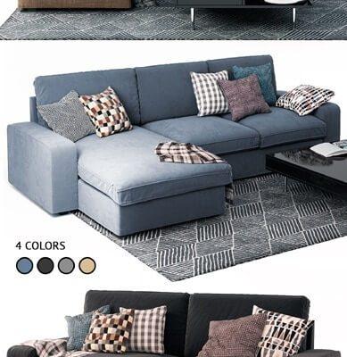 Kivik sofa 3d model 2