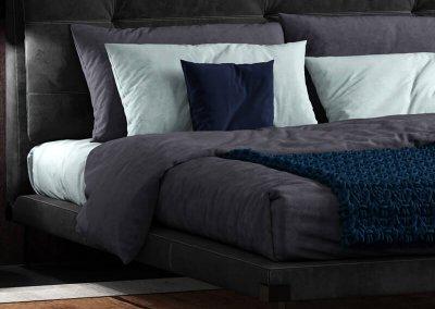 Baxter viktor 5 Bed 3D model 3