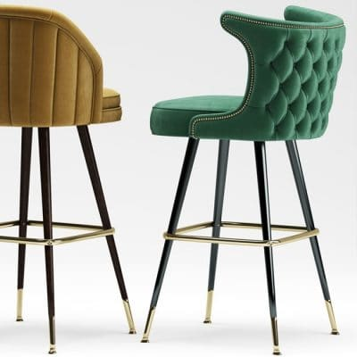 Deer Spring Barstool 3D Model