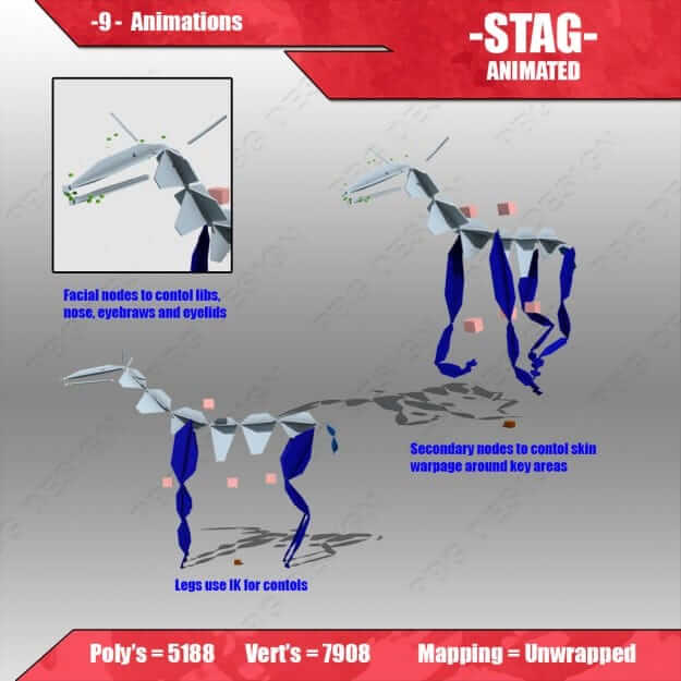 stag animated 4