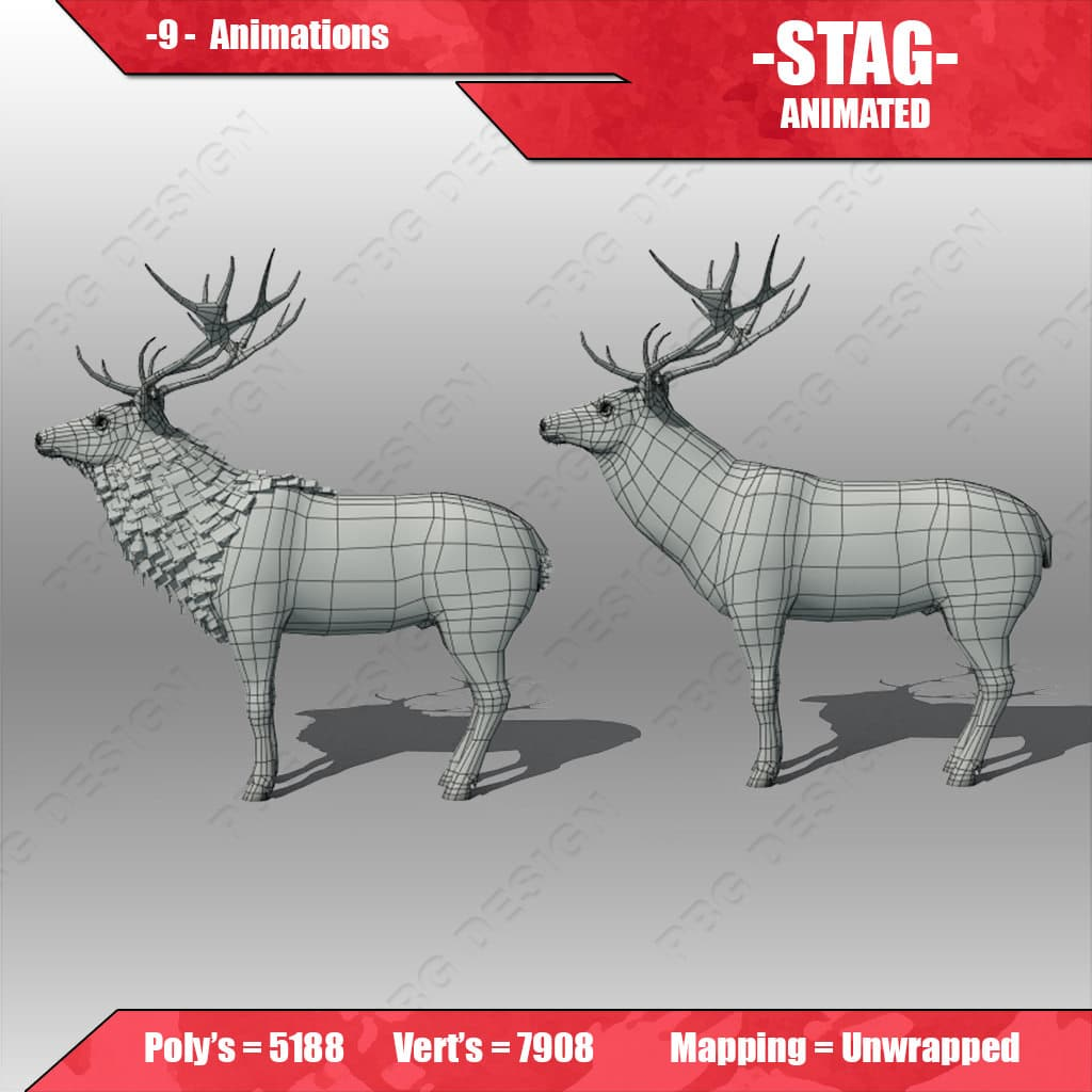 stag animated 6
