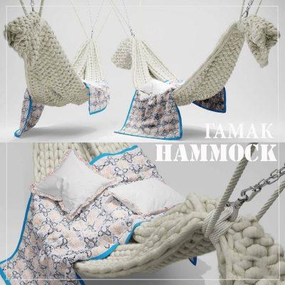 tamak hammock 3D model