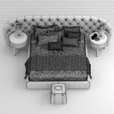 ulivi MILADY bed (2)