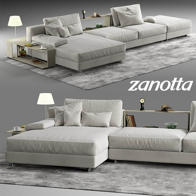 zanotta scott sofa